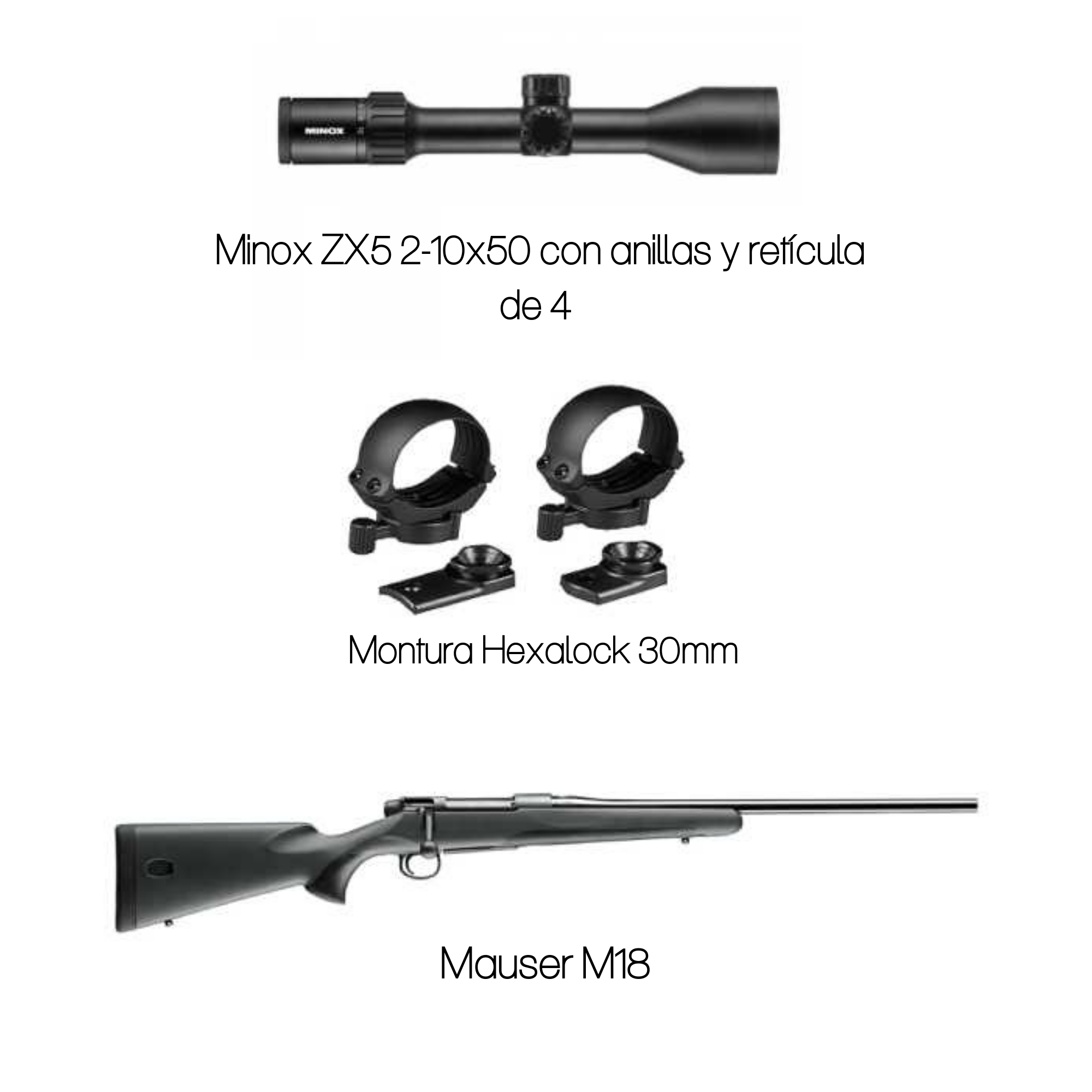 Out New Mauser M18 Rifle – Name